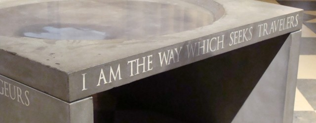 I Am The Way Which Seeks Travelers